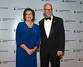 United States Representative Greg Walden (republican of Oregon) and his wife, Mylene, arrive for the formal Artist's Dinner honoring the recipients of the 41st Annual Kennedy Center Honors hosted by United States Deputy Secretary of State John J. Sullivan at the US Department of State in Washington, D.C. on Saturday, December 1, 2018. The 2018 honorees are: singer and actress Cher; composer and pianist Philip Glass; Country music entertainer Reba McEntire; and jazz saxophonist and composer Wayne Shorter. This year, the co-creators of Hamilton, writer and actor Lin-Manuel Miranda, director Thomas Kail, choreographer Andy Blankenbuehler, and music director Alex Lacamoire will receive a unique Kennedy Center Honors as trailblazing creators of a transformative work that defies category.<br /> Credit: Ron Sachs / Pool via CNP