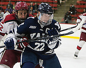 Phil Zielonka (Harvard - 72), Tommy Fallen (Yale - 22) - The visiting Yale University Bulldogs defeated the Harvard University Crimson 2-1 (EN) on Saturday, November 15, 2014, at Bright-Landry Hockey Center in Cambridge, Massachusetts.