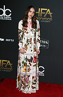 BEVERLY HILLS, CA - NOVEMBER 5: Zoe Kazan, at The 21st Annual Hollywood Film Awards at the The Beverly Hilton Hotel in Beverly Hills, California on November 5, 2017. Credit: Faye Sadou/MediaPunch