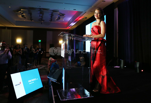 HOLLYWOOD, CA - SEPTEMBER 30: Kim Biddle, at The 6th Annual Saving Innocence Gala_Insde at Loews Hollywood Hotel, California on September 30, 2017. Credit: Faye Sadou/MediaPunch