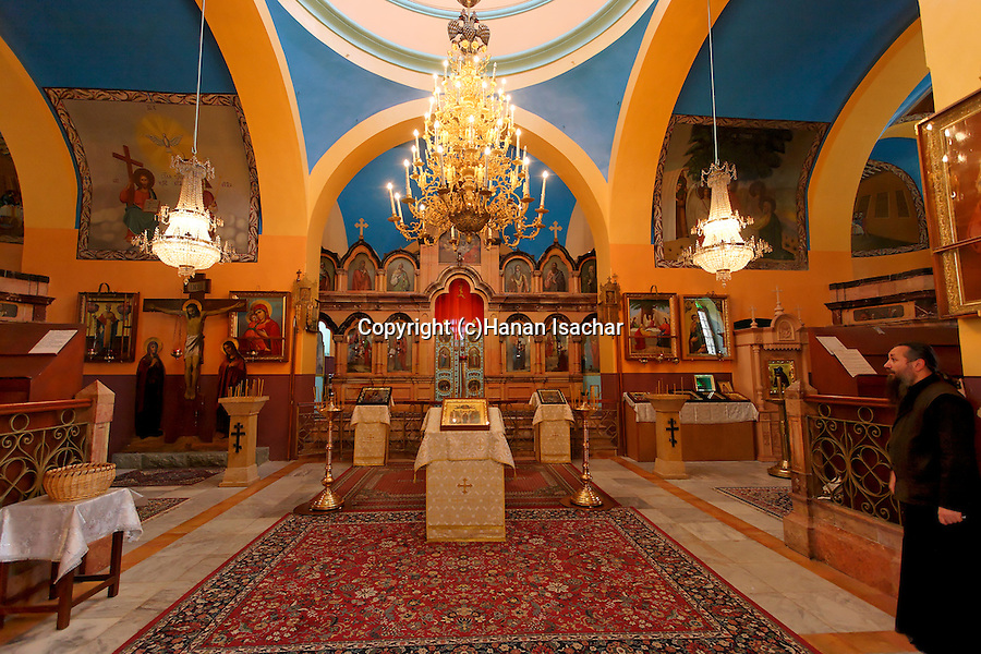 Judea, intarior of the Russian Orthodox Church in Hebron