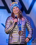 Julia Mancuso during the Olympic Homecoming  Celebration at Squaw Valley on Friday night, March 21, 2014.