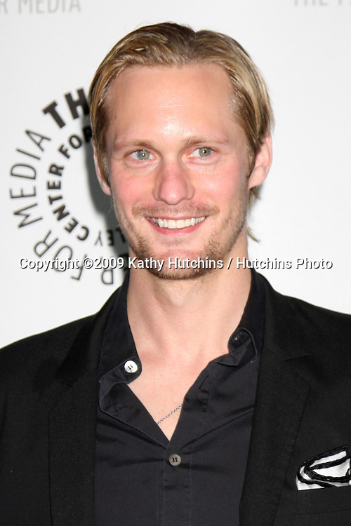 "Alexander Skarsgard   arriving at the ""True Blood"" PaleyFest09 event on April 13 ,2009 at the ArcLight Theaters in Los Angeles, California..©2009 Kathy Hutchins / Hutchins Photo....                ."