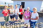 At the Recovery Haven Celebration of Light at the Lifeguard Station in Ballyheigue on Monday evening.<br /> Front l-r, Peggy Geary and Peggy Sullivan.<br /> Back l-r, Mary Lawlor, Susan Lacey, Mary Sullivan and Helen Geary.