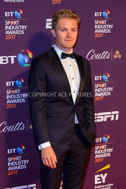 www.acepixs.com<br /> <br /> April 27 2017, London<br /> <br /> Nico Rosberg arriving at the BT Sport Industry Awards at Battersea Evolution on the 27th April 2017 at Battersea Evolution, London<br /> <br /> By Line: Famous/ACE Pictures<br /> <br /> <br /> ACE Pictures Inc<br /> Tel: 6467670430<br /> Email: info@acepixs.com<br /> www.acepixs.com