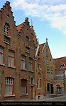 Baroque and Neo-Baroque Architecture, 15th-19th c., Moerstraat at Sint-Jakobsplein, Bruges, Brugge, Belgium