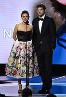 MOUNTAIN VIEW, CA - DECEMBER 3: Mila Kunis and Ashton Kutcher appear on the 6th Annual Breakthrough Prize at NASA Ames Research Center on December 3, 2017 in Mountain View, California. (Photo by Frank Micelotta/NatGeo/PictureGroup)