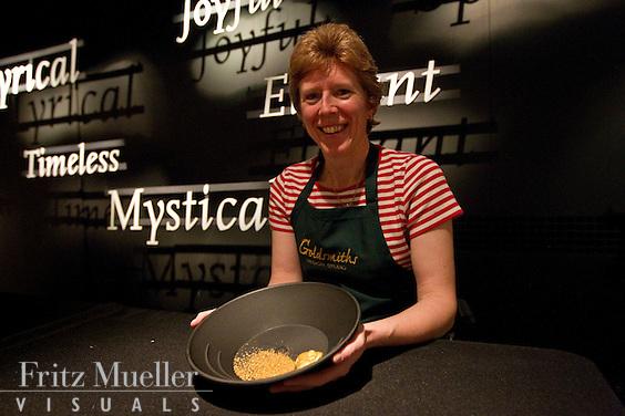 Yukon goldsmith and jeweller Cheryl Rivest