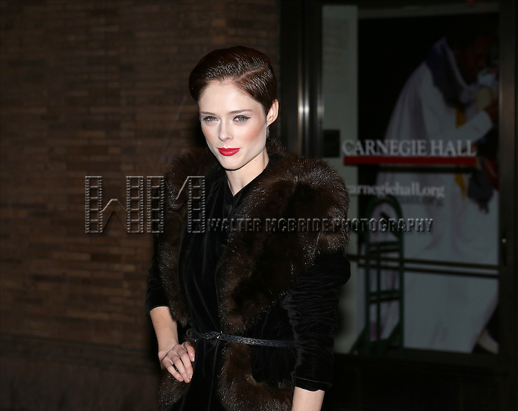 Coco Rocha attends the Glamour 2013 Woman Of The Year Awards at Carnegie Hall on November 11, 2013 in New York City.