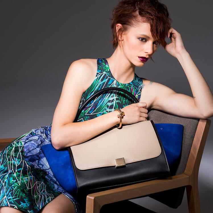Fashion With Mirella, Handbags.. Kat. Pic:Nick Clayton