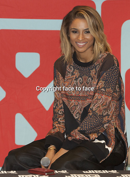 NEW YORK, NY - JULY 9: Ciara at J&amp;R Music promoting her new album 'Ciara' on July 9, 2013 in New York City.<br /> Credit: MediaPunch/face to face<br /> - Germany, Austria, Switzerland, Eastern Europe, Australia, UK, USA, Taiwan, Singapore, China, Malaysia, Thailand, Sweden, Estonia, Latvia and Lithuania rights only -