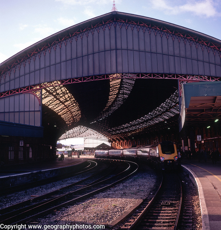 Temple Meads railway station, Bristol, England