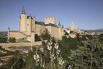 Alcazar Castle, Segovia, Castile and Leon, Spain