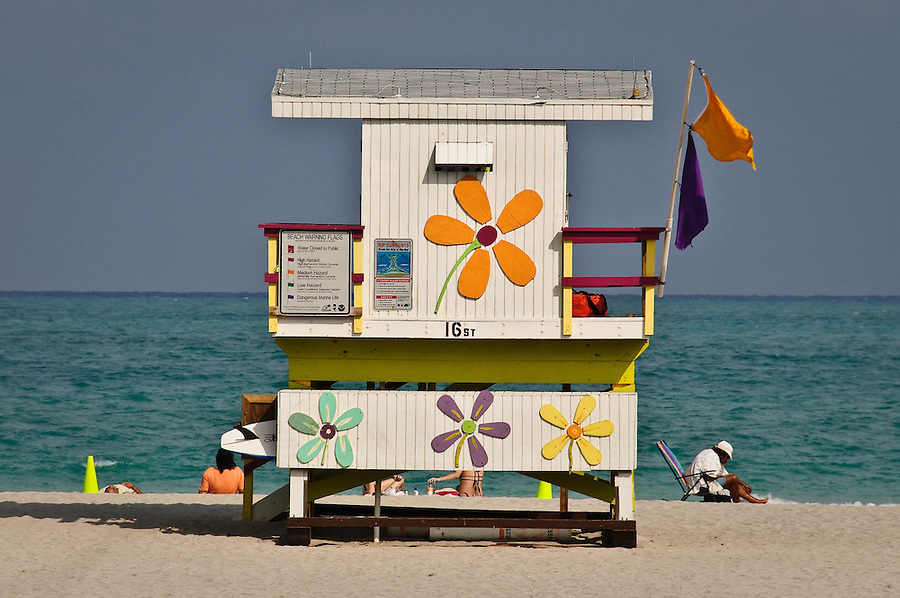 "Images from ""At Water's Edge"" Exhibition. Image from South Beach, Florida"