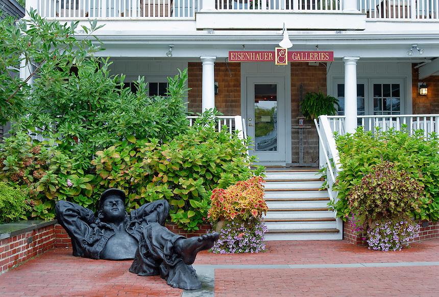 Eisehauer Galleries, Edgartown, Martha's Vineyard, Massachusetts, USA