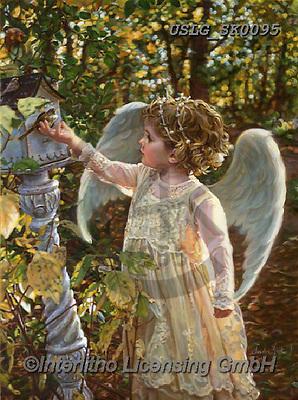 CHILDREN, KINDER, NIÑOS, paintings+++++,USLGSK0095,#K#, EVERYDAY ,Sandra Kock, victorian ,angels