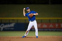 AZL Cubs 1 shortstop Nico Hoerner (24) during an Arizona League game against the AZL Athletics at Sloan Park on June 28, 2018 in Mesa, Arizona. AZL Athletics defeated AZL Cubs 1 5-4. (Zachary Lucy/Four Seam Images)