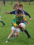 Duleek/Bellewstown B Eoin Heeney St Colmcilles Conor Power. Photo: Colin Bell/pressphotos.ie
