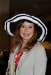 """Jacklyn Zeman """"Bobbie Spencer"""" - General Hospital wearing a Jane Elissa hat as she raises money for Leukemia and Cancer Research. (Photo by Sue Coflin/Max Photos)"""