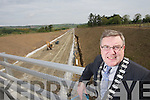 Kerry Mayor Bobby O'Connell pictured at the new Castleisland bypass.