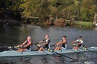 345 RDG .Reading Rowing Club Small Boats Head 2011. Tilehurst to Caversham 3,300m downstream. Sunday 16.10.2011