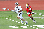 Mission Viejo, CA 05/14/11 - Chris Tesoriero (Loyola #25) and Robbie Romero (Mission Viejo #1) in action during the Division 2 US Lacrosse / CIF Southern Section Championship game between Mission Viejo and Loyola at Redondo Union High School.