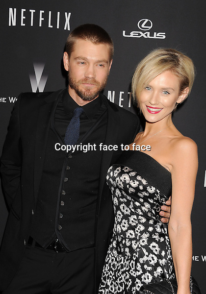 BEVERLY HILLS, CA- JANUARY 12: Actors Chad Michael Murray (L) and Nicky Whelan attend The Weinstein Company &amp; Netflix 2014 Golden Globes After Party held at The Beverly Hilton Hotel on January 12, 2014 in Beverly Hills, California.<br /> Credit: Mayer/face to face<br /> - No Rights for USA, Canada and France -