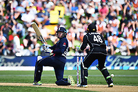 England player Jonny Bairstow during the 4th ODI Blackcaps v England. University Oval, Dunedin, New Zealand. Wednesday 7 March 2018. ©Copyright Photo: Chris Symes / www.photosport.nz