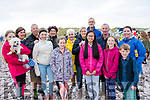 A group of racegoers at Rossbeigh Beach Races on Sunday