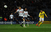 Leeds United's Pablo Hernandez shoots over the bar<br /> <br /> Photographer Kevin Barnes/CameraSport<br /> <br /> The EFL Sky Bet Championship - Preston North End v Leeds United -Tuesday 9th April 2019 - Deepdale Stadium - Preston<br /> <br /> World Copyright &copy; 2019 CameraSport. All rights reserved. 43 Linden Ave. Countesthorpe. Leicester. England. LE8 5PG - Tel: +44 (0) 116 277 4147 - admin@camerasport.com - www.camerasport.com