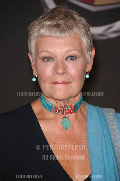 Actress DAME JUDI DENCH at the 13th Annual Premiere Magazine Women in Hollywood gala at the Beverly Hills Hotel..September 20, 2006  Los Angeles, CA.© 2006 Paul Smith / Featureflash