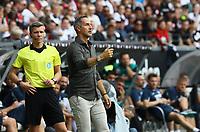 Trainer Adi Hütter (Eintracht Frankfurt) - 18.08.2019: Eintracht Frankfurt vs. TSG 1899 Hoffenheim, Commerzbank Arena, 1. Spieltag Saison 2019/20 DISCLAIMER: DFL regulations prohibit any use of photographs as image sequences and/or quasi-video.