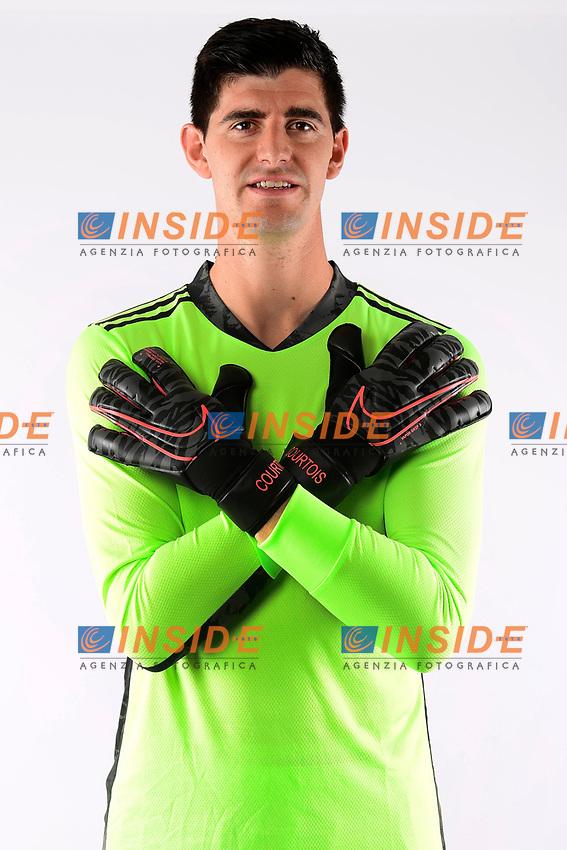 Thibaut Courtois goalkeeper of Belgium  <br /> Tubize 12/11/2019 <br /> Calcio presentazione della nuova maglia della Nazionale del Belgio <br /> Photo De Voecht  Kalut/Photonews/Panoramic/insidefoto<br /> ITALY ONLY