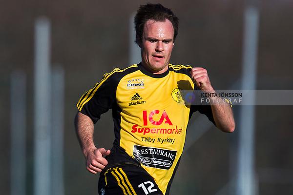 110417 Frejs Niklas Thor under fotbollsmatchen i Division 1 Norra mellan Vasalund och Frej den 17 April 2011 i Solna. <br /> Foto: Kenta J&ouml;nsson<br /> Nyckelord: fotboll, division 1, vasalund, frej
