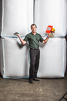 Mike Biddle pictures: executive portrait photography of Mike Biddle of MBA Polymers, by San Francisco corporate photographer Eric Millette
