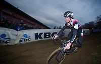 Zach McDonald (USA)<br /> <br /> UCI Worldcup Heusden-Zolder Limburg 2013