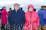 Kathleen and Michael Moloney from Ballyheigue at the Ballyheigue Races on Saturday.