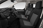 Front seat view of a 2018 Peugeot Traveller Business 4 Door Mini Van front seat car photos