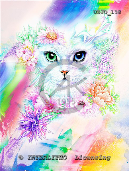 Marie, REALISTIC ANIMALS, REALISTISCHE TIERE, ANIMALES REALISTICOS, paintings+++++,USJO138,#A# ,Joan Marie cat