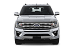 Car photography straight front view of a 2019 Ford Expedition Limited 5 Door SUV