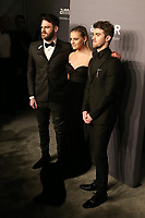 06 February 2019 - New York, NY - Alex Pall, Kelsea Ballerini, Andrew Taggart. 21st Annual amfAR Gala New York benefit for AIDS research during New York Fashion Week held at Cipriani Wall Street. Photo Credit: Debby Wong/AdMedia