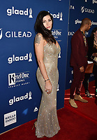BEVERLY HILLS, CA - APRIL 12: Actress Trace Lysette attends the 29th Annual GLAAD Media Awards at The Beverly Hilton Hotel on April 12, 2018 in Beverly Hills, California.<br /> CAP/ROT/TM<br /> &copy;TM/ROT/Capital Pictures