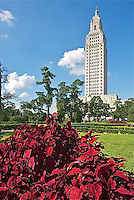 F- Louisiana State Capital & View of Baton Rouge, Baton Rouge LA 10 13