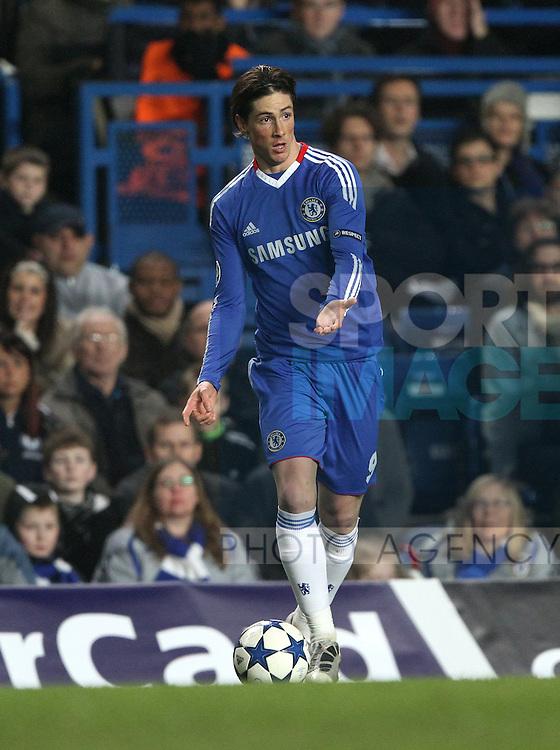 Chelseas Fernando Torres in action