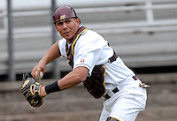 Boston College catcher Tony Sanchez in action at Shea Field May 14, 2009 in Chestnut Hill, MA (Photo by Ken Babbitt/Four Seam Images)