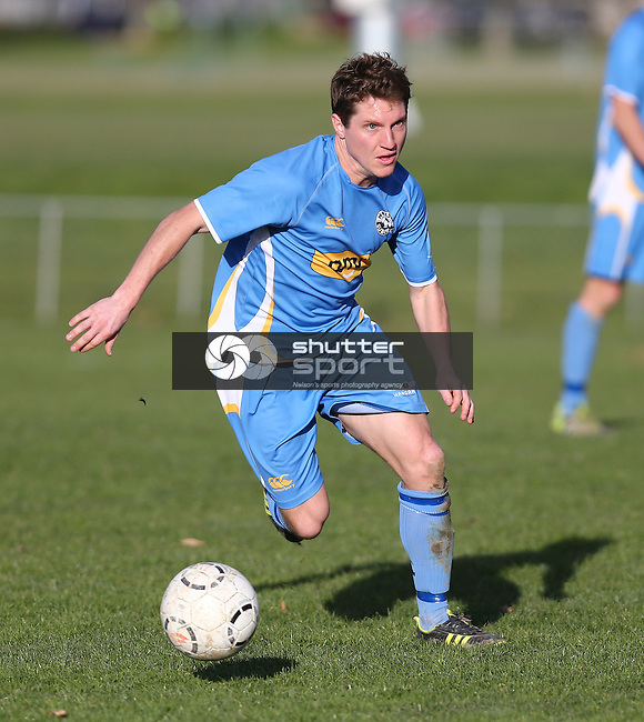 Nelson Suburbs v Halswell Saxton Field, Saturday 16th August 2014,Evan Barnes / www.shuttersport.co.nz