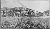 Trestle could be false-work for truss spans<br /> D&amp;RG  near Austin on Somerset Branch, CO  1902