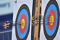 Bersagli con frecce <br /> Roma 01-09-2017 Stadio dei Marmi <br /> Roma 2017 Hyundai Archery World Cup Final <br /> Finale Coppa del mondo tiro con l'arco <br /> Foto Andrea Staccioli Insidefoto/Fitarco