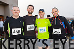 participating in the  Kerins O'Rahillys 10k Aidam O Brien, David O Brian, Brian Redmond, Jason Flaherty on sunday