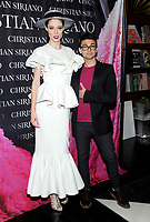 NEW YORK, NY - NOVEMBER 08: Coco Rocha and Christian Seriano attend the release of Christian Siriano's  book 'Dresses To Dream About' at the Rizzoli Flagship Store on November 8, 2017 in New York City.  <br /> CAP/MPI/JP<br /> &copy;JP/MPI/Capital Pictures